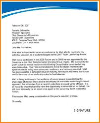 Sample Leadership Recommendation Letter Choice Image - Letter Format ...
