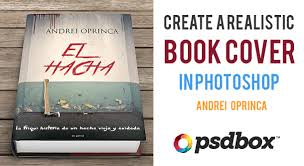 create a realisitc book cover in photo
