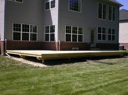 backyard deck design ideas. Deck Designs Without Railings Some Considerations About Backyard Design Ideas O