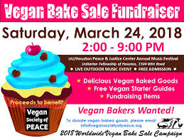 How To Have A Bake Sale 2018 Bake Sales Worldwide Vegan Bake Sale