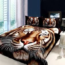 black brown and white animal themed tiger print jungle tales full size kids bedroom bedding sets