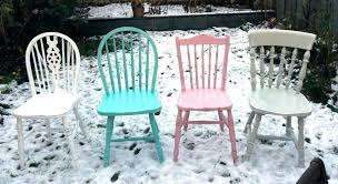 wooden outdoor furniture painted. Painted Chair Ideas Repaint Wooden Chairs Love Them Outdoor Furniture