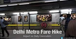 Delhi Metro Fare Hike Dmrc Has Increased 100 Fare Of Delhi