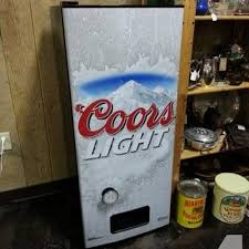 Coors Light Vending Machine Fascinating Find More Coors Light Refresherator For Sale At Up To 48% Off