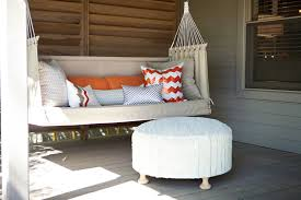 sofa pillows bring a touch of indoor comfort to a deck or patio designers say