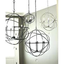 metal orb chandelier awesome industrial style world market pendant light images large