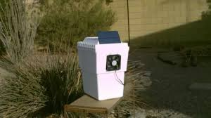 Solar Power Cooler Homemade Air Conditioner Solar Powered Air Cooling 35f 40f