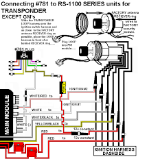 installation diagrams vehicle wiring damage connecting 781 to remote start with onboard relays for transponder