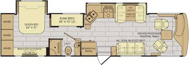 rv floor plans. Excusion_35E_Motorhome Excursion_RV_Fleetwood_RV_Dealer Rv Floor Plans