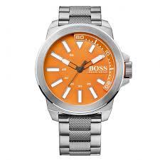 boss orange watches mens orange dial new york gay times £149 00