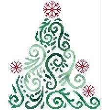 Art Deco Cross Stitch Charts Art Deco Tree 6