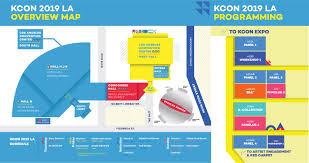 Kcon La Maps 2019 Kcon Usa Official Site