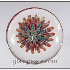 boro glass cabochons dot implosion lampwork