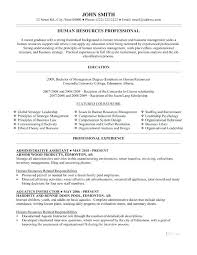 Executive Assistant Resume Sample Resume Example For Office