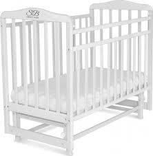 <b>Кроватка</b> детская <b>Sweet Baby</b> Ennio, цвет: белый — купить в ...