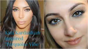 kim kardashian turquoise vibe inspired eyeliner you
