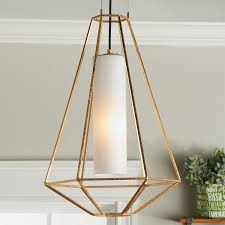 Wire Frame Prism Pendant Hexagon Shades Of Light
