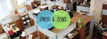 cubicle office space. pros and cons of open office space design cubicle