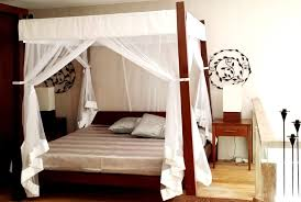 smart use of canopy bed drapes. Smart King Size Mosquito Nets Use Of Canopy Bed Drapes
