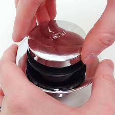 how to remove a toe touch tub stopper removing the cap of a toe touch stopper