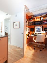 hidden home office. home office - small contemporary freestanding desk light wood floor idea in san francisco hidden o