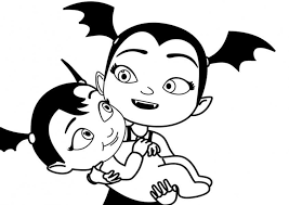 Get creative with coloring pages, printable activities and more! Vampirina 15 Ausmalbilder Malvorlagen