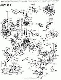 Tecumseh engine wiring diagram tecumseh hmsk110 159954b parts