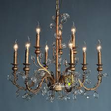 antique copper asfour crystal chandelier 7473