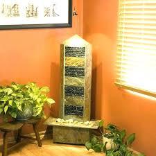water wall indoor fountains attractive floor diy feature easy outdoor featu