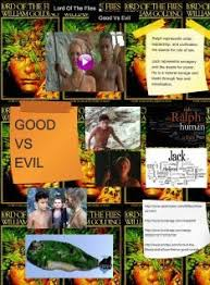lord of the flies good vs evil text images music video  lord of the flies good vs evil