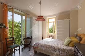 Architektur Landhaus Schlafzimmer Mit Klassischen Möbeln