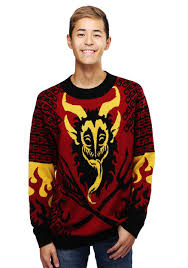Men\u0027s Krampus Sweater Ugly Christmas for Men