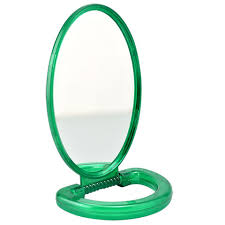 handheld mirror. + hand held mirrors with stands handheld mirror o