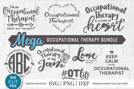 Don't forgetto check out our free svg gallery for tons of free svgs! Occupational Therapist Svg Bundle Occupational Therapy Svg 379312 Cut Files Design Bundles