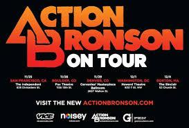 action bronson us tour dates 11 17 atlanta ga the tabernacle 11 18 12 new orleans la house of blues 11 19 12 houston tx scout bar
