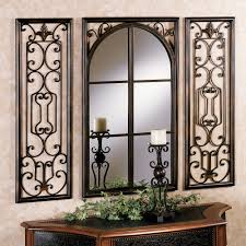 provence bronze finish wall mirror set provence mirror touch to zoom