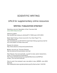 Scientific Writing Pdf Scientific Writing A Reader And Writers Guide