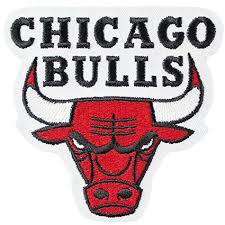 bulls logo. Plain Logo Official Chicago Bulls Logo Large Sticker Iron On NBA Basketball Patch  Emblem In Amazoncom