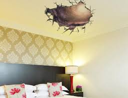 3d cracked wall decal sticker living room bedroom ceiling wall decor poster art mural transparent cave wall applique home wall tattoo on wall art decals for living room with 3d cracked wall decal sticker living room bedroom ceiling wall decor