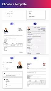 Free Resume Builder Apps You Have To Try In 2019 Nick