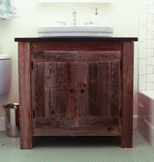 bathroom ideas vintage brown reclaimed wood bathroom vanity with