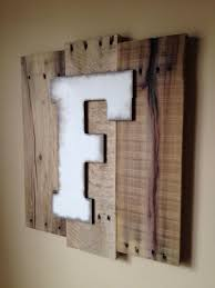 awesome wall letter decor 134 best f images on letters and customizable art using by ideas m rustic h b c g