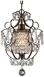 vintage chandelier crystals for awesome whse of tiffany rl4025br rosalie 1 light antique bronze 11