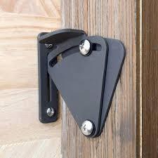 sliding door cast big size pull door black solid cast sliding barn door gate lock door