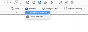 Text Document Solved How Do I Straighten Scanned Pages In Adobe Acrobat