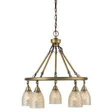 allen roth lynlore 24 02 in 5 light old brass vintage mercury glass dd