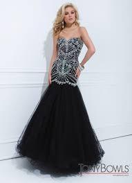 Tony Bowls Black Mermaid Gown 114746