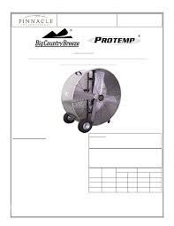 pinnacle products international air cleaner protemp bcb 42 bdf pdf protemp bcb 36 bdf