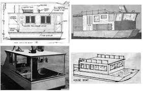 Small Picture Free Houseboat Plans and Designs for Building a House Boat or Pontoon