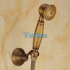 antique brass hand shower sets solid brass hand shower 1 5m shower hose pipe